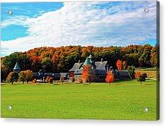 Shelburne Farm Vermont Acrylic Print by William Alexander