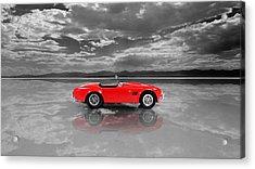 Shelby Cobra 1965 Acrylic Print by Mark Rogan