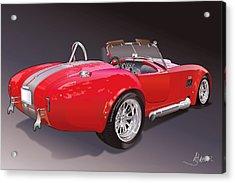 Shelby Cobra Acrylic Print by Alain Jamar