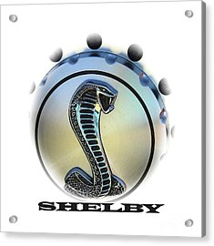 Shelby Cobra Art Acrylic Print