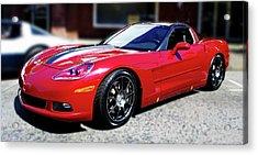 Shelby Corvette Acrylic Print