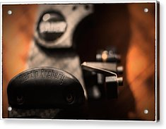 Acrylic Print featuring the photograph Shelf Rest by Tim Nichols