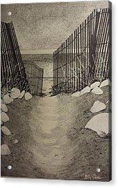 Shell Path Acrylic Print