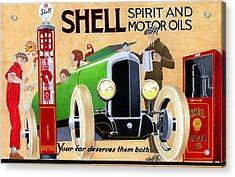 Shell Spirit Acrylic Print by Lyle Brown