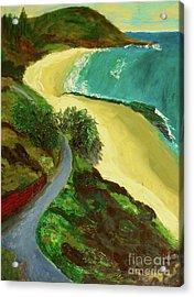 Shelly Beach Acrylic Print by Paul McKey