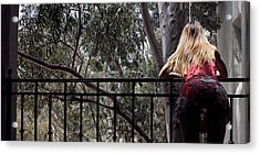 Shelly And Shirley 6 Acrylic Print by David Miller