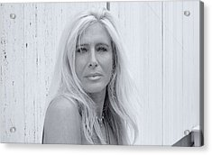 Shelly And Shirley 8 Acrylic Print by David Miller