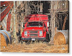 Shelter From The Weather Acrylic Print