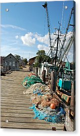 Acrylic Print featuring the photograph Shelter Island by Frank Stallone