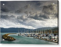 Acrylic Print featuring the photograph Sheltered by Dan Mihai
