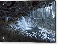 Sheltered From The Blizzard Acrylic Print