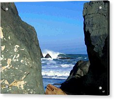 Sheltered From The Wind Acrylic Print