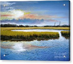 Shem Creek Sky Acrylic Print
