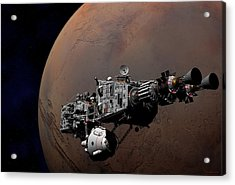 Acrylic Print featuring the digital art Shenandoah At Mars by David Robinson