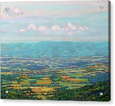 Shenandoah Blue Acrylic Print