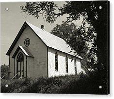 Shenandoah Church Acrylic Print by Michael L Kimble