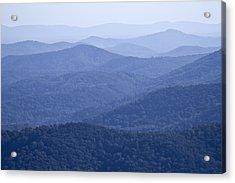 Shenandoah Mountains Acrylic Print by Pierre Leclerc Photography