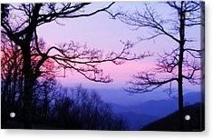 Shenandoah Twilight Acrylic Print
