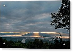 Acrylic Print featuring the photograph Shenandoah Valley First Light by Lara Ellis