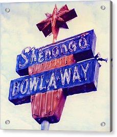 Shenango Bowl-a-way Acrylic Print by Steven  Godfrey