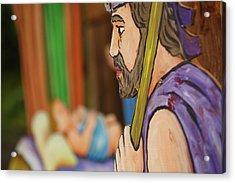 Shepherd Acrylic Print by Gaspar Avila