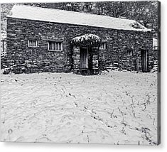 Shepherds Cottage Acrylic Print by Keith Elliott