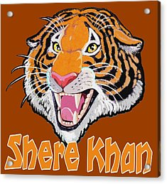Shere Khan Acrylic Print