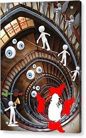 Sherlocks Labyrinth Acrylic Print