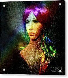 She's Like A Rainbow Acrylic Print