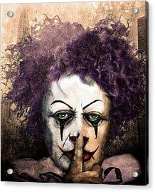 Shhhhh Acrylic Print by Jeremy Martinson