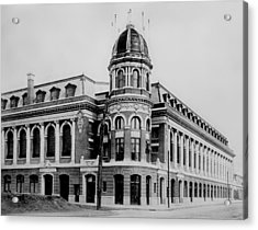 Shibe Park 1913  Acrylic Print by Bill Cannon