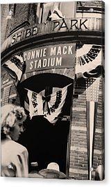 Shibe Park - Connie Mack Stadium Acrylic Print