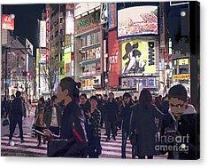Shibuya Crossing, Tokyo Japan Poster 3 Acrylic Print