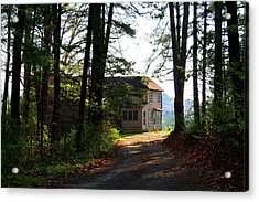 Acrylic Print featuring the photograph Shields Farm by Kathryn Meyer