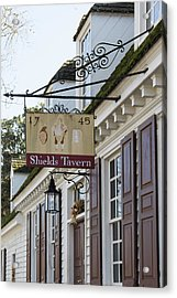 Shields Tavern Sign Acrylic Print