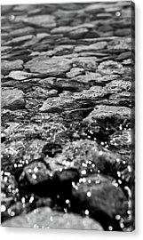 Shimmering Waters In Spring Acrylic Print