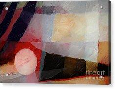 Shimmery Landscape Acrylic Print by Lutz Baar