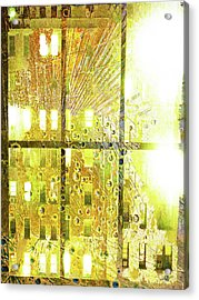 Acrylic Print featuring the mixed media Shine A Light by Tony Rubino