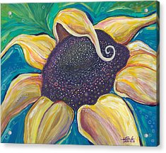 Acrylic Print featuring the painting Shine Bright by Tanielle Childers