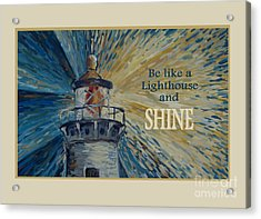 Shine Acrylic Print