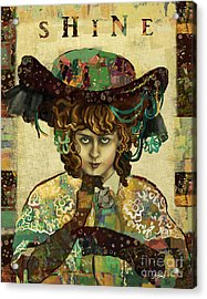 Shine - Norma Whalley Acrylic Print