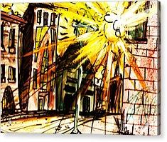Shine On Acrylic Print by Josh Burns