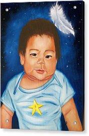 Shining Star Acrylic Print by Joni McPherson