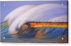 Shining Wave Acrylic Print