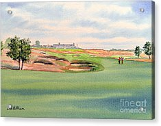 Shinnecock Hills Golf Course Acrylic Print