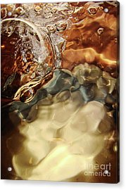 Shiny Happy Bubble Acrylic Print