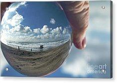 Ship In A Bubble Acrylic Print