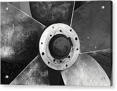 Ship Propeller  Acrylic Print