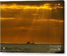 Ship Rest Acrylic Print