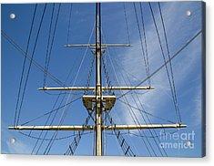 Ship Rigging Acrylic Print